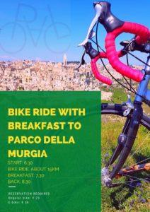 Cycling tour Murgia Matera breakfast 2