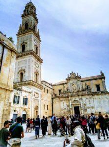 Italy Puglia Basilicata Lecce walking tour guideduomo cathedral square IMG-20190425-WA0008