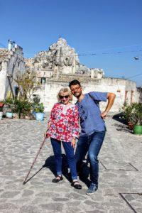 Italy Puglia Basilicata Lecce Matera Tour guide walking american group IMG_1589