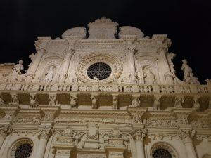 Puglia Italy tour landscape night walking Lecce Santa croce