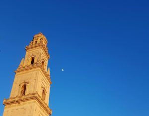 Puglia Italy guided tours Lecce Walking duomo cathedral bell tower