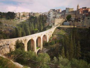 Puglia Italy tour landscape gravina bridge canyon