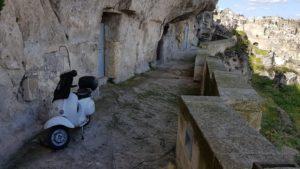Puglia Italy tour landscape matera sassi vespa
